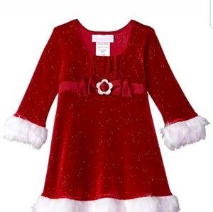 Bonnie Baby Dresses - Baby girl santa dress